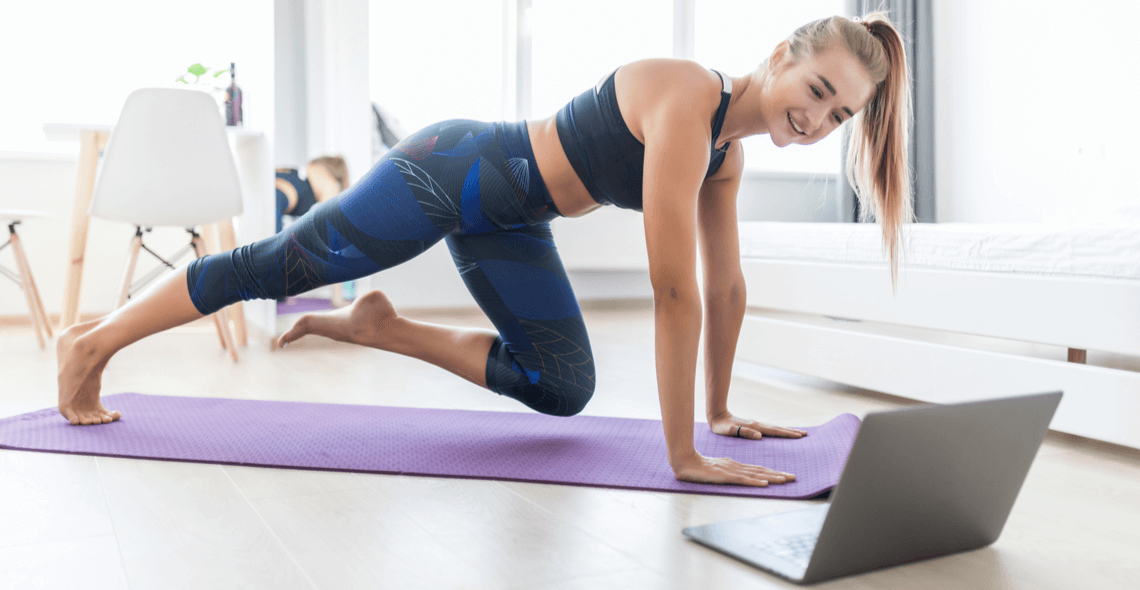 Exercising at Home or Outdoors Certificate
