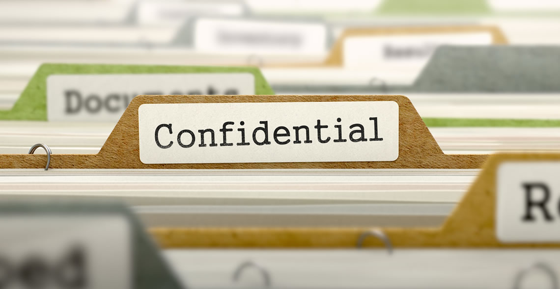 HR: Protecting Confidentiality Certificate
