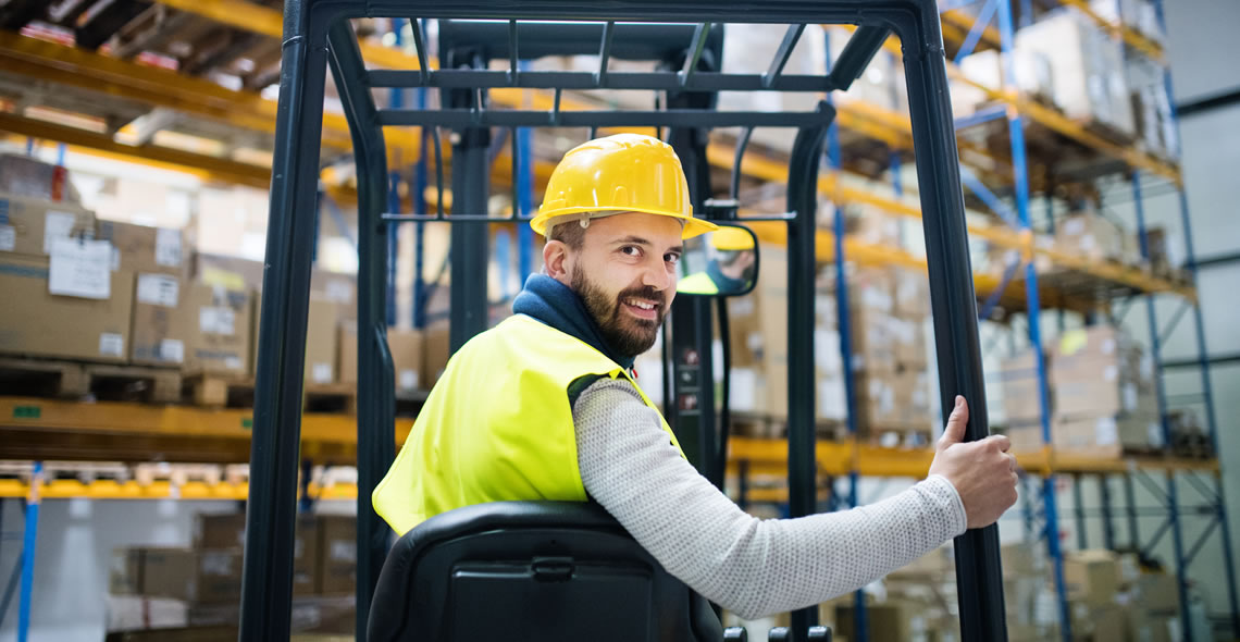 Working with Lift Trucks Certificate