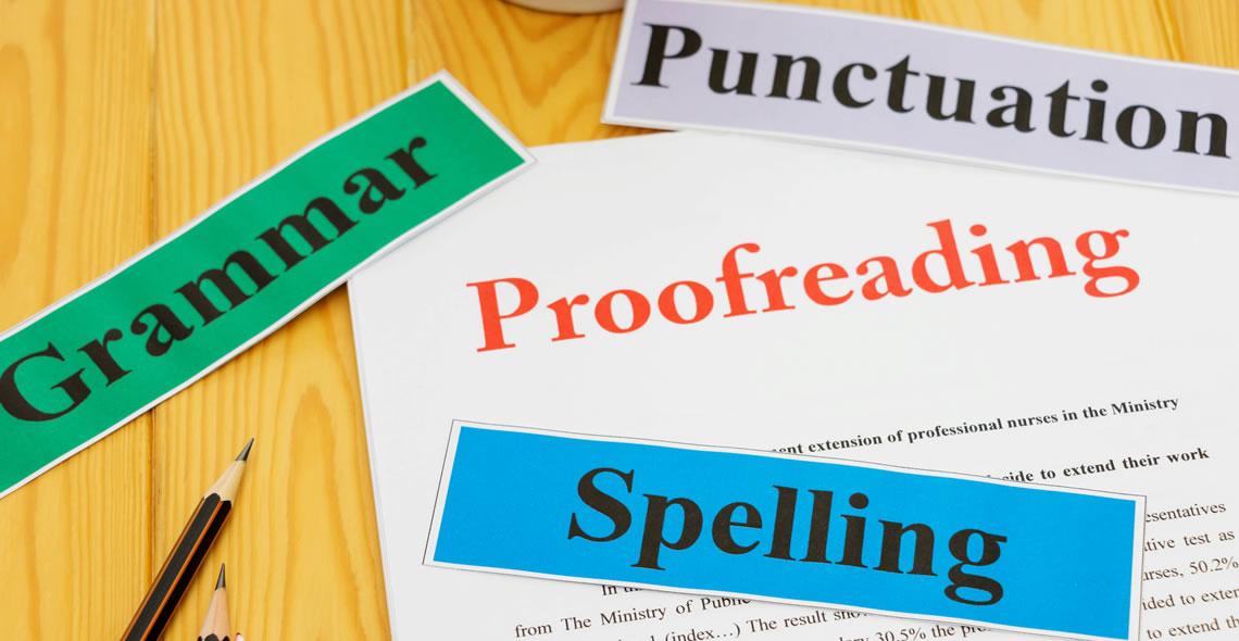 Proofreading Basics Certificate