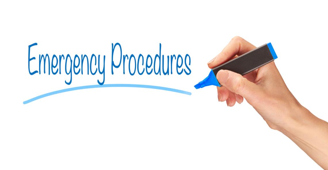 Emergency Procedures in the Workplace Certificate