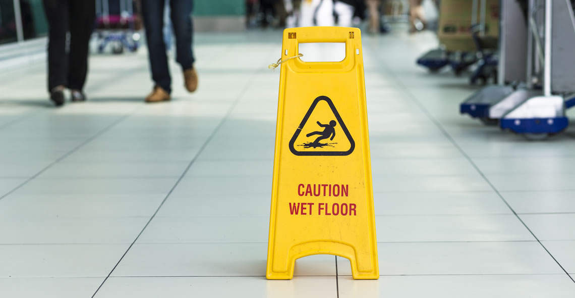 Preventing Slips and Trips in the Workplace Certificate