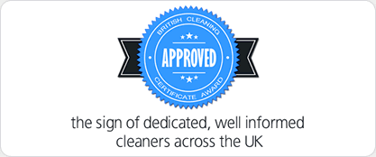 (BCCA) British Cleaning Certificate Approved Logos