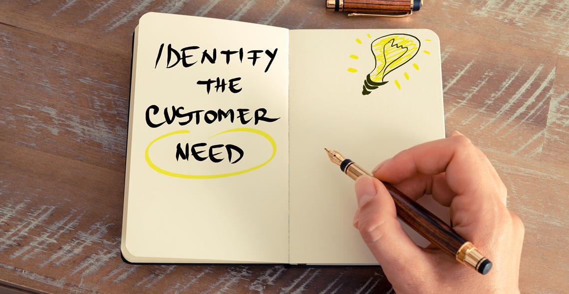 Identifying Customer Need